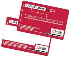CCAS - Transport - Carte solidaire